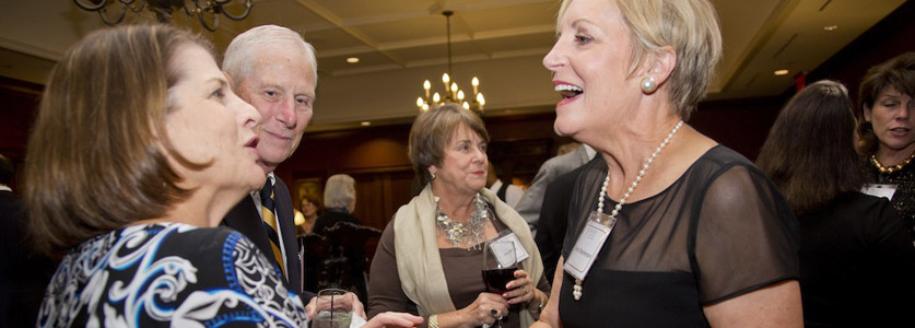 Alumni gather to honor recipients of the Emory Medal.
