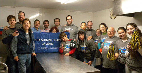 Emory Cares in Spain